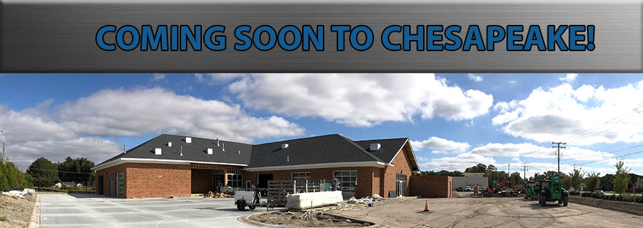 Chesapeake Location Coming Soon!