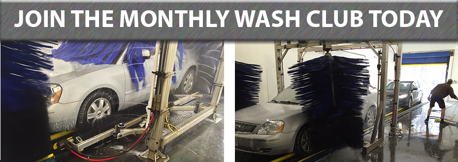 MONTHLY WASH CLUB